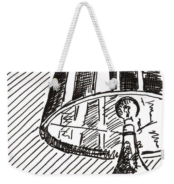 Lamp 1 2015 - Aceo Weekender Tote Bag