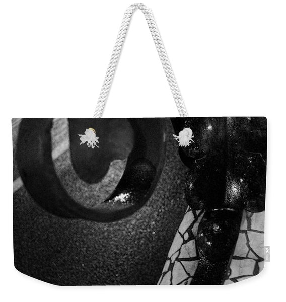 Lamppost Of Passeig De Gracia Weekender Tote Bag