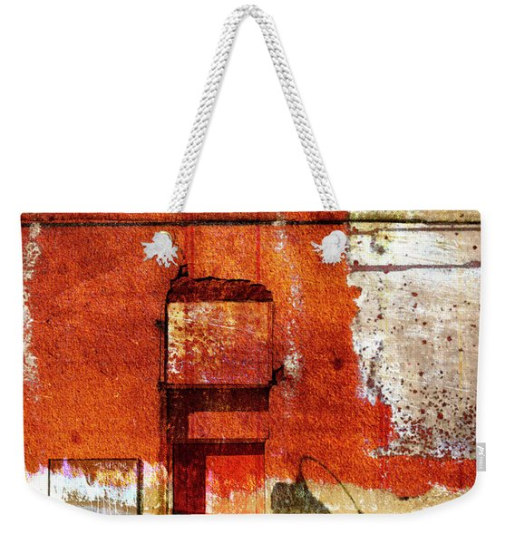Lamppost Shadow Weekender Tote Bag