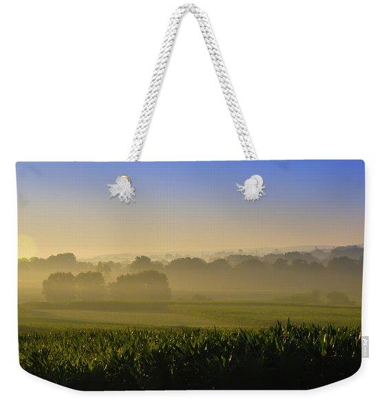 Lancaster County Sunrise Weekender Tote Bag