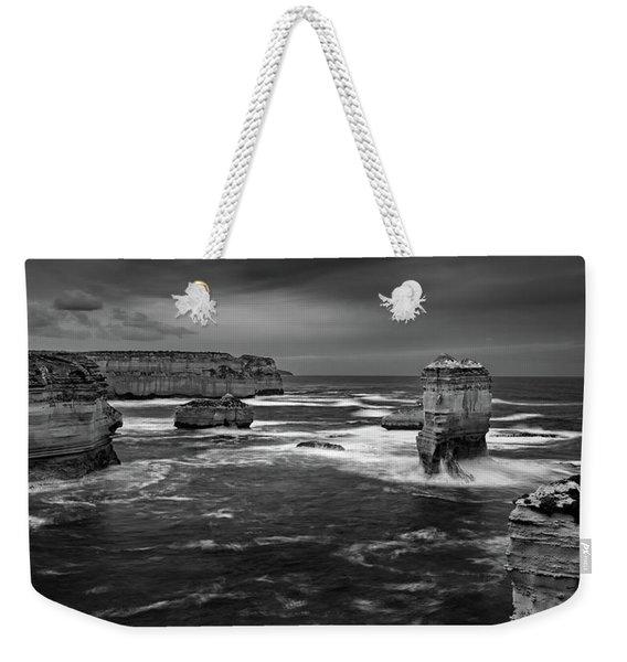Land And Sea Weekender Tote Bag