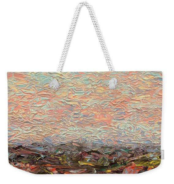 Land And Sky 3 Weekender Tote Bag