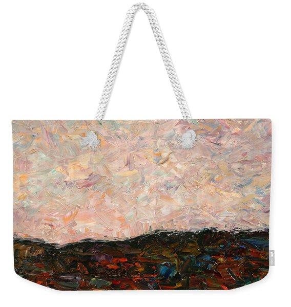 Land And Sky Weekender Tote Bag