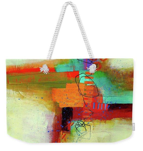 Land Line #1 Weekender Tote Bag
