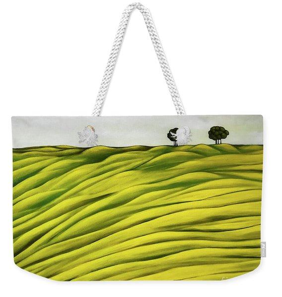 Land Of Breather Weekender Tote Bag