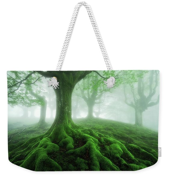 Land Of Roots Weekender Tote Bag