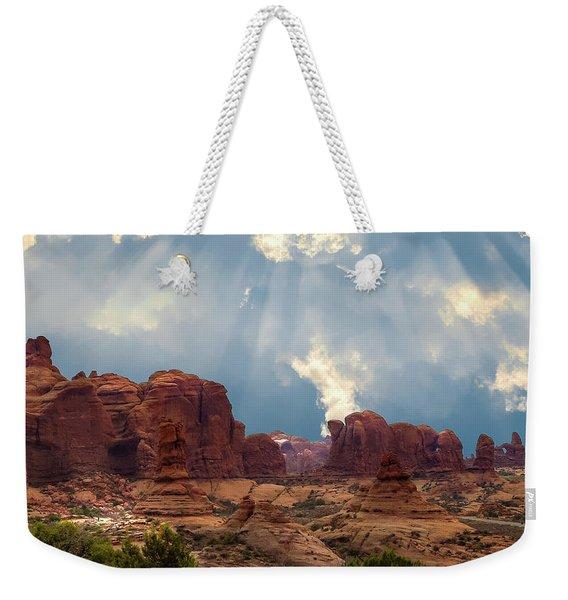 Land Of The Giants Weekender Tote Bag