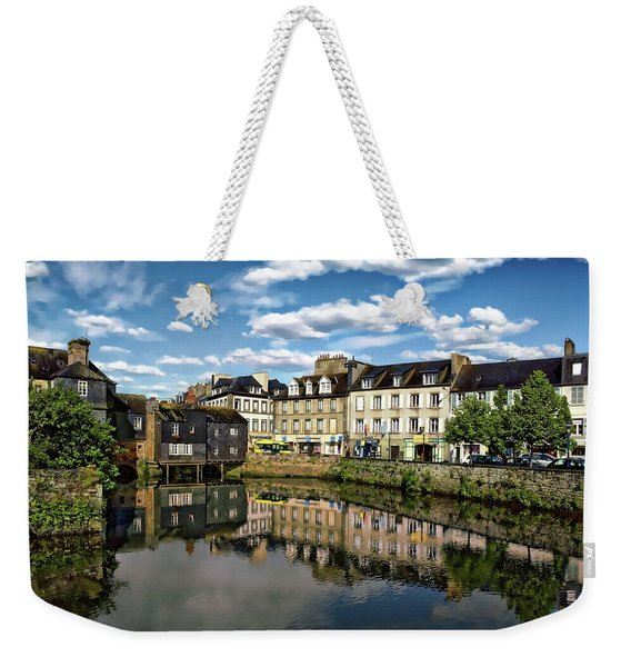 Landerneau Village View Weekender Tote Bag