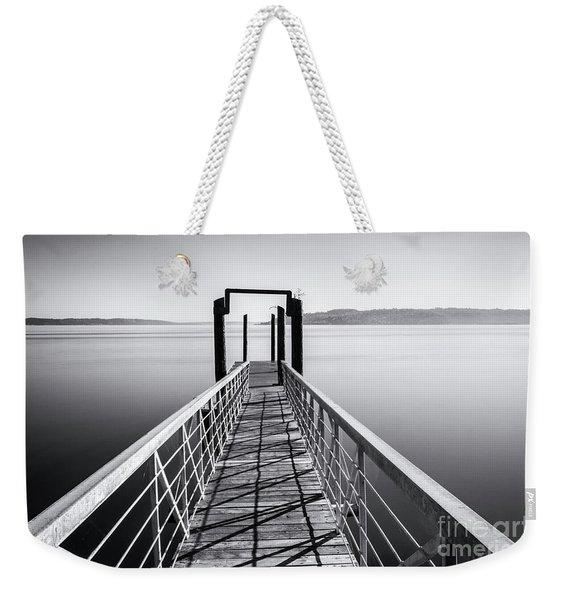 Landing Dock Weekender Tote Bag