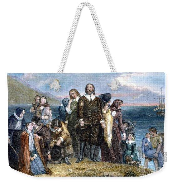 Landing Of Pilgrims, 1620 Weekender Tote Bag