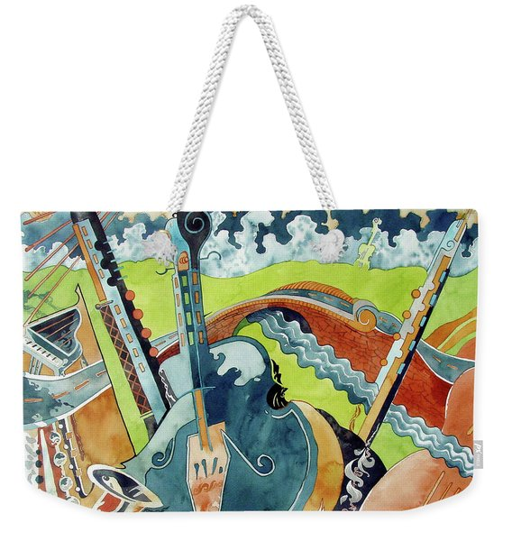 Landscape In B-flat Weekender Tote Bag
