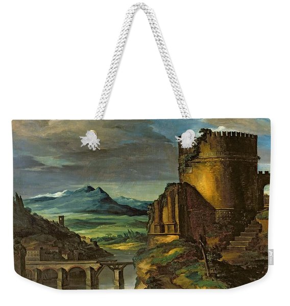 Landscape With A Tomb  Weekender Tote Bag