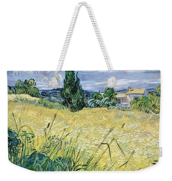 Landscape With Green Corn Weekender Tote Bag