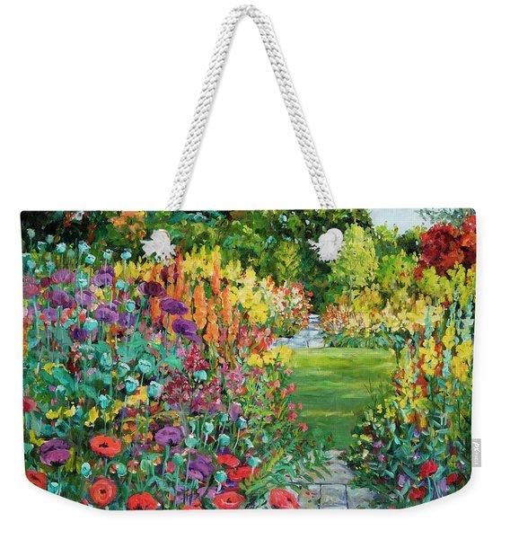 Landscape With Poppies Weekender Tote Bag