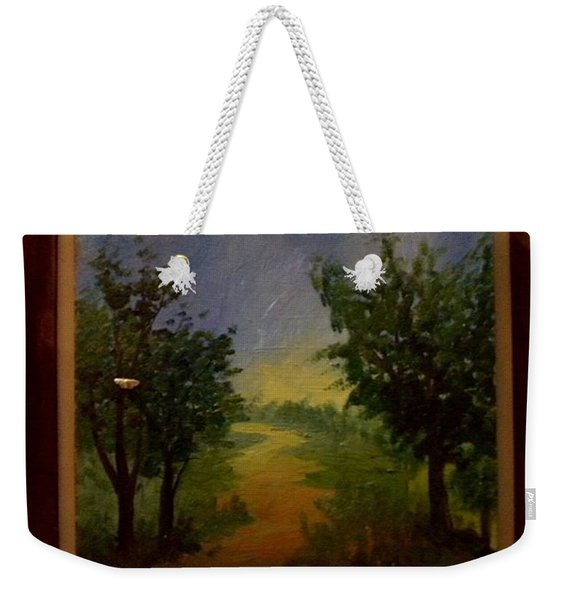 Landscape  From  Naturama By David Weekender Tote Bag