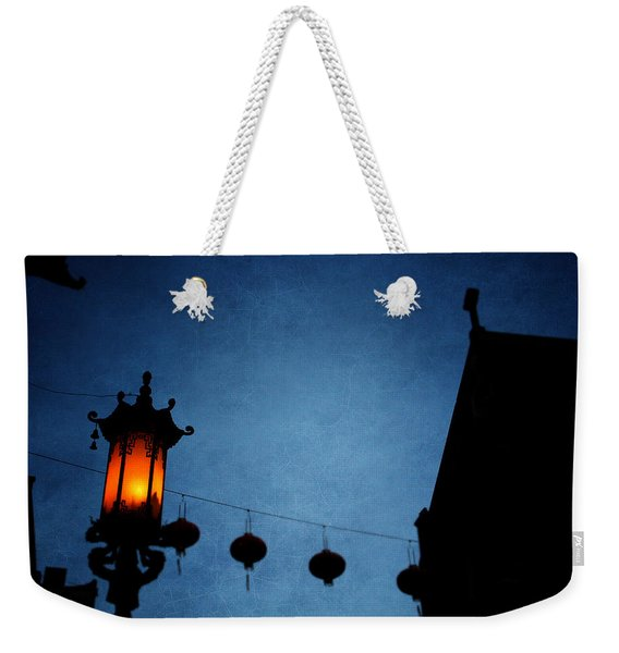 Lanterns- Art By Linda Woods Weekender Tote Bag