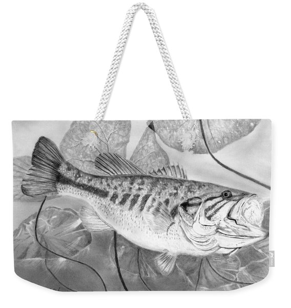 Large Mouthed Bass Weekender Tote Bag