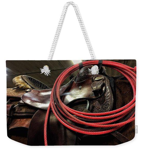 Lariat Weekender Tote Bag