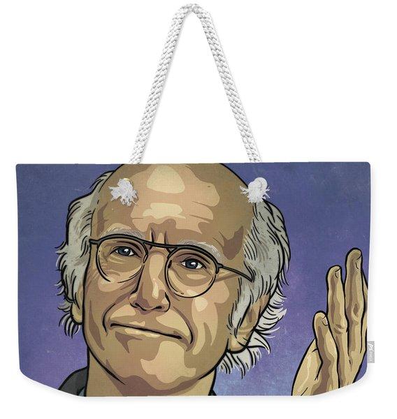 Larry David Weekender Tote Bag