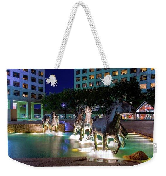 Las Colinas Mustangs 72016 Weekender Tote Bag