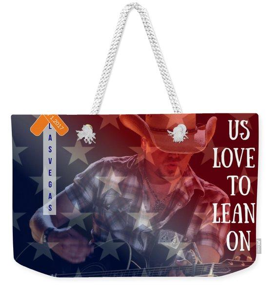Las Vegas Tee Weekender Tote Bag
