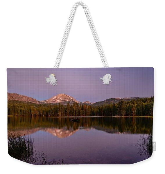 Lassen Peak Weekender Tote Bag