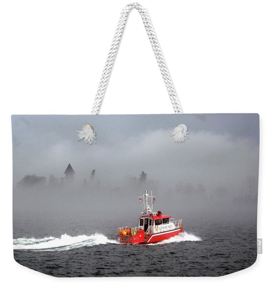 Last Chance Off Calument Island Weekender Tote Bag