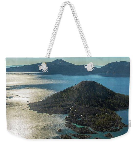 Last Crater View Weekender Tote Bag