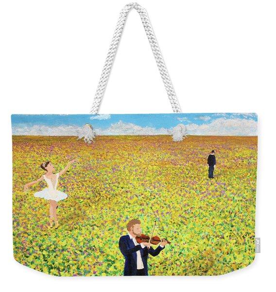 Last Dance Weekender Tote Bag