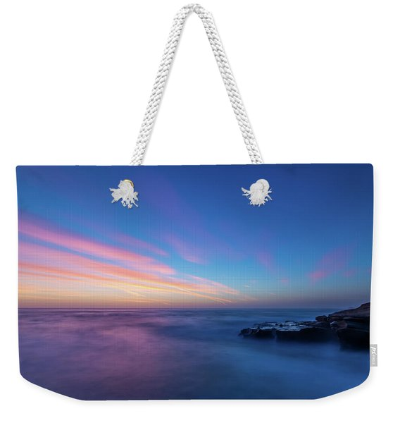 Last Light In April, Sunset Clifs Weekender Tote Bag