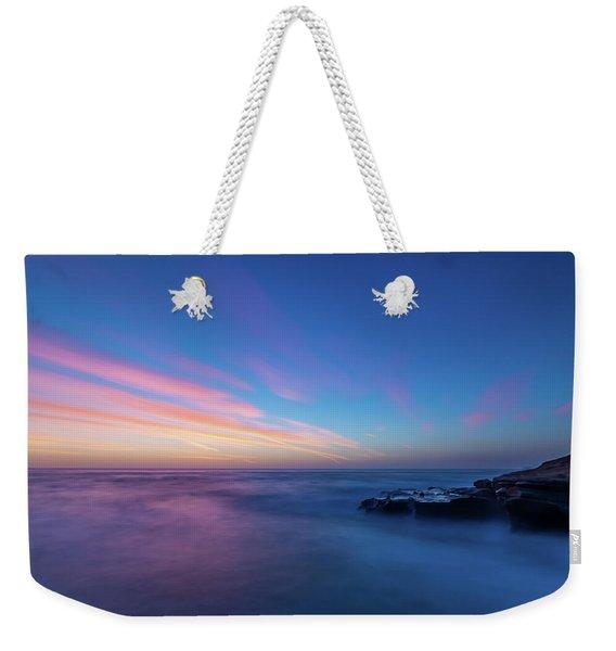 Last Light In April, Sunset Clifs Weekender Tote Bag