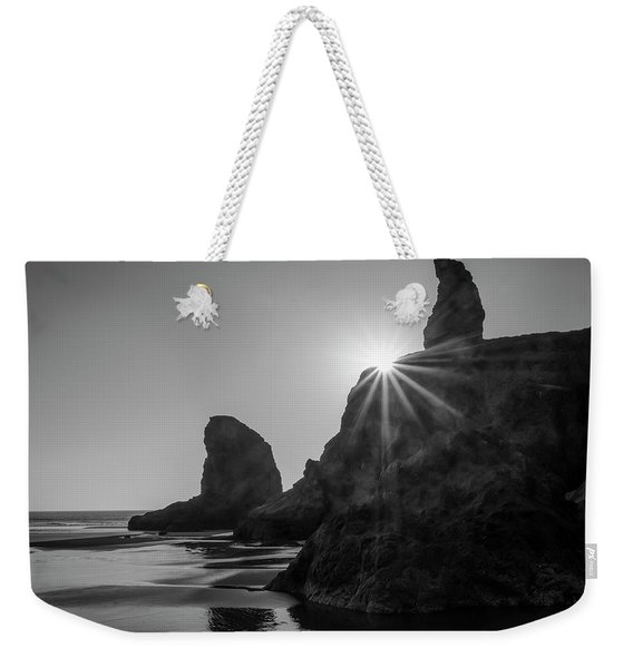 Last Light On The Coast Weekender Tote Bag