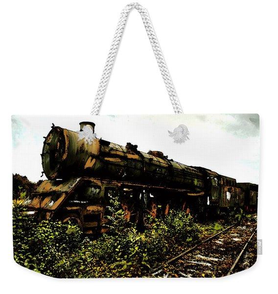 Last Of The 309  Steam Train  Weekender Tote Bag