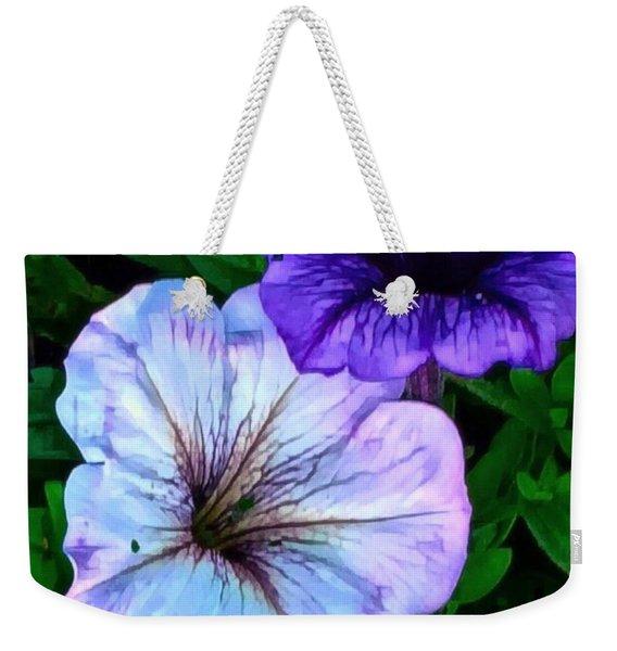 Last Of The Petunias   Weekender Tote Bag