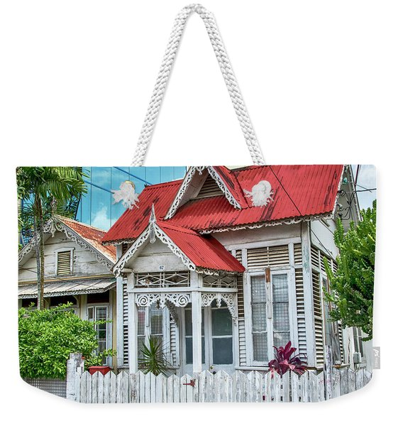 Weekender Tote Bag featuring the photograph Last One Standing by Rachel Lee Young