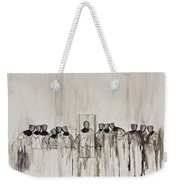 Last Supper Weekender Tote Bag