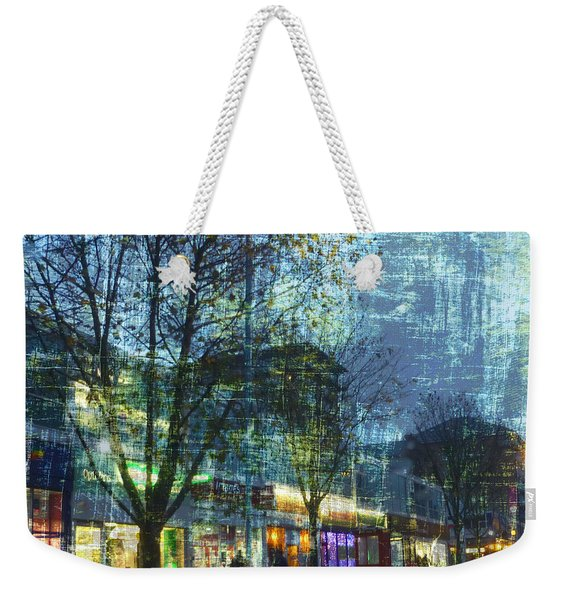 Late Afternoon In Autumn Weekender Tote Bag