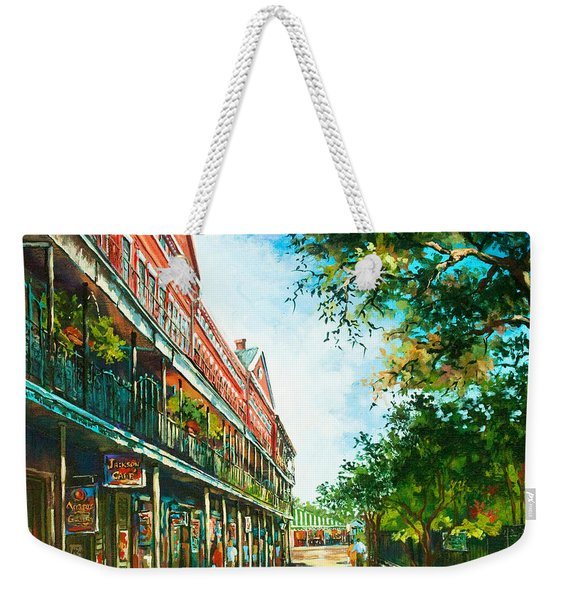 Late Afternoon On The Square Weekender Tote Bag