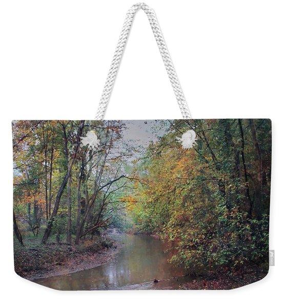 Late Autumn Afternoon Weekender Tote Bag