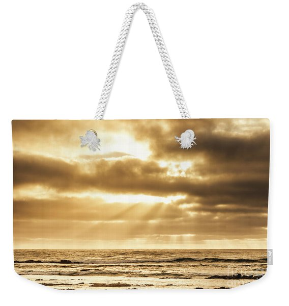 Late Day Rays Weekender Tote Bag