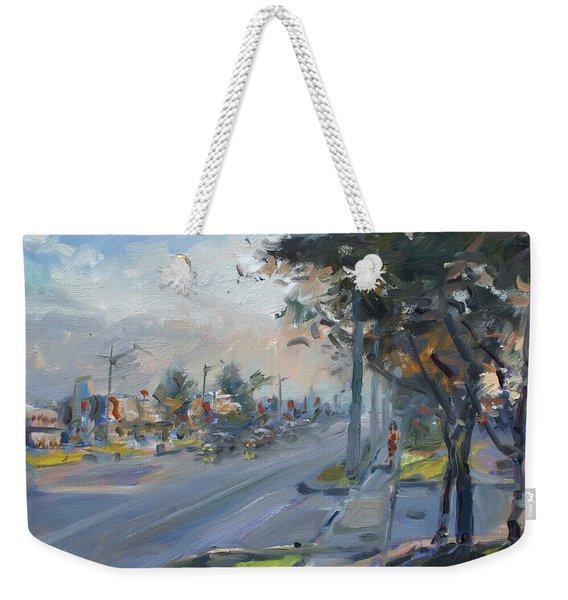 Late Evening In Guelph Street Georgetown Weekender Tote Bag