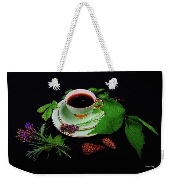 Late Summer Coffee Weekender Tote Bag