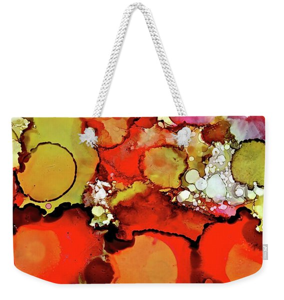 Late Summer Flowers Weekender Tote Bag