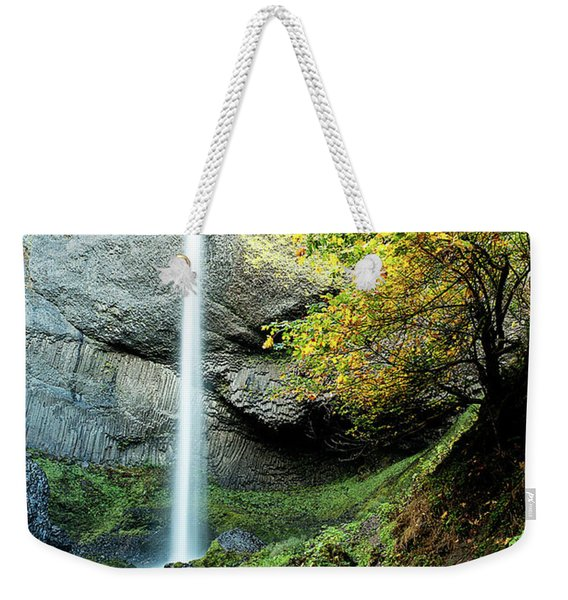 Latourell Falls Weekender Tote Bag