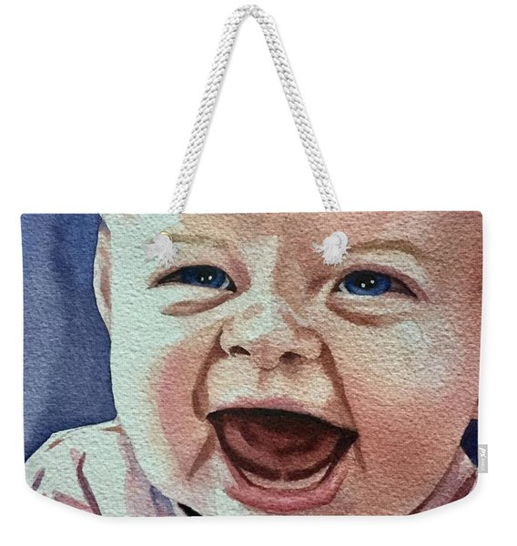 Laughter Weekender Tote Bag