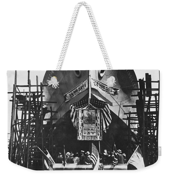 Launching The Invincible Weekender Tote Bag