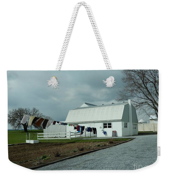 Laundry Day - Two Weekender Tote Bag