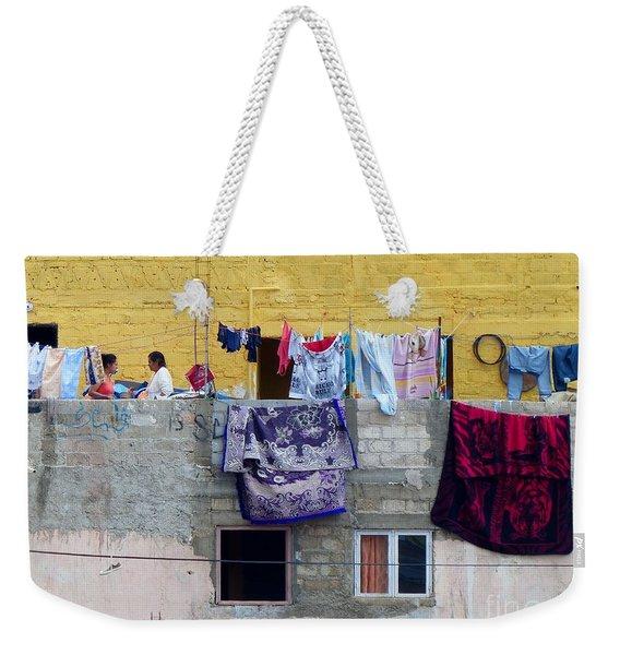 Laundry In Guanajuato Weekender Tote Bag