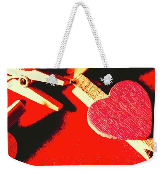Laundry Love Weekender Tote Bag