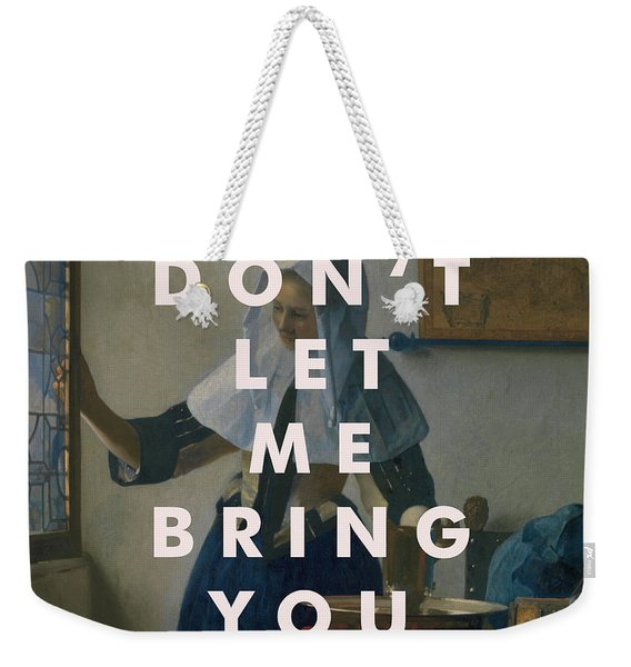 Laura Marling Lyrics Print Weekender Tote Bag